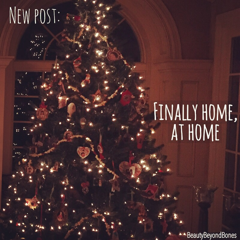 finally home at home beautybeyondbones. Black Bedroom Furniture Sets. Home Design Ideas